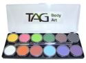 Picture of TAG Regular Palette - 12 colours (10g x 12)