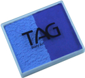 Picture of TAG Royal Blue & Powder Blue Split Cake 50g