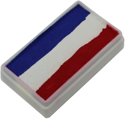 Picture of TAG  1 Stroke (RED, WHITE AND BLUE) Cake - 30g