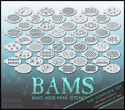 Picture of BAM 1000 Classic Set (45 stencils)