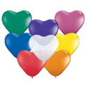 Picture of 6 Inch Heart - Jewel Assortment (100/bag)