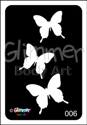 Picture of Cascading Tri-Butterflies  BG-06 - (5pc pack)