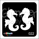 Picture of Twin Seahorse BG-22 - (1pc)