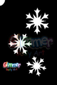 Picture of Cascading Snow Flakes Stencil (MA-35) - (1pc)