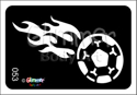 Picture of Soccer Flames MA-53 - (1pc)