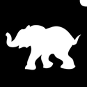 Picture of Baby Elephant - Stencil (5pc pack)