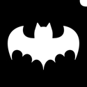 Picture of Single Bat - Stencil (1pc)