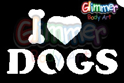 Picture of I Love Dogs - Stencil (1pc)