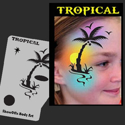 Picture of Tropical Stencil Eyes Profiles - SOBA