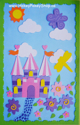 "Picture of Krafty Kids Kit: 3D Foam-Fun Art Board 6""x9""- Castle"