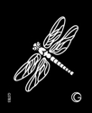 Picture of Basic - HD Stencil - Dragonfly - B03 (4pc/pk)