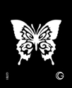 Picture of Basic - HD Stencil - Butterfly - B01 (4pc/pk)