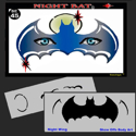 Picture of Night Bat Stencil Eyes - 45SE - (8 YRS and UP)