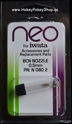 Picture of N-080-2 Fluid Nozzle 0.5mm for NEO BCN Siphon Feed Airbrush