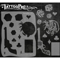 Picture of Tattoo Pro Stencil - Guns & Gamblin (ATPS-115)