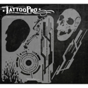 Picture of Tattoo Pro Stencil - Electro Skull (ATPS-122)