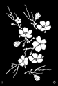 Picture of Elite - HD Stencil - Cherry Blossom - L06 (1pc/pk)