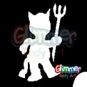 Picture of Little Devil - Stencil (1pc)
