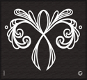 Picture of Essential - HD Stencil - Lacy Ribbon - AE3 (2pc/pk)