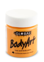 Picture of Global  - Liquid Face and Body Paint -  ORANGE 45ml
