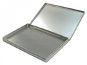 Picture of Empty Metal Tin Case 12 x 9 x 0.5in.