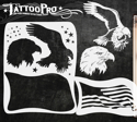 Picture of Tattoo Pro Stencil - Americana (ATPS-137)