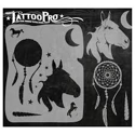 Picture of Tattoo Pro Stencil - Dream Horse (ATPS134)