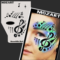 Picture of Mozart Stencil Eyes Profiles- SOBA