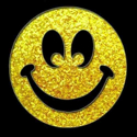 Picture of Smiley Face - Sparkle Stencil (1pc)
