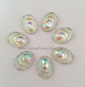 Picture of Big Peacock Gems - Crystal - 13x18mm (7 pc.) (SG-BP3)