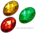 Picture of Oval Gems - Festive Set -13x18mm (7 pc) (AG-O1)