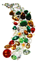 Picture of Gem Cluster Set - Festive Assortment (150 pc) (AG-CS2)