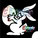 Picture of Easter Bunny Stencil (1pc)