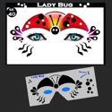 Picture of Lady Bug Stencil Eyes - 40SE - (8 YRS and UP)