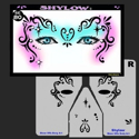 Picture of Shylow Stencil Eyes - 80SEc - (Child Size 4-7 YRS OLD)