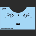 Picture of Kitty Whiskers Stencil - SOBA-76