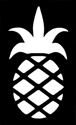 Picture of Pineapple - Sparkle Stencil (1pc)