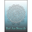 Picture of Bad Ass Stencils - 6087 - Filigree