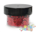 Picture of ABA Chunky Glitter - Firetruck Red (15ml)