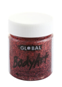 Picture of Global Colours Red Glitter Gel 45mL