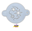 Picture of TAP 015 Face Painting Stencil - Snowflakes