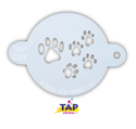 Picture of TAP 023 Face Painting Stencil - Paw Prints