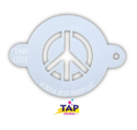 Picture of TAP 033 Face Painting Stencil - Peace Sign