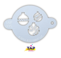 Picture of TAP 035 Face Painting Stencil - Christmas Ornaments