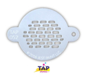 Picture of TAP 052 Face Painting Stencil - Bricks
