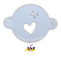 Picture of TAP 057 Face Painting Stencil - My Valentine