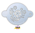 Picture of TAP 066 Face Painting Stencil - Flower Garden