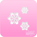 Picture of Pink Power Face Painting Stencil (1123) - Fancy Daisies
