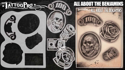 Picture of Tattoo Pro Stencil - All About the Benjamins (ATPS161)