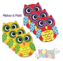 Picture of Krafty Kids Kit: DIY Foam Pal Kits Make 6 Hootie Hoo